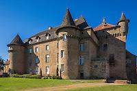 France, Lot, (46), Lacapelle-Marival: Le château de Lacapelle-Marival   des XIIIe et XVIe siècles  érigé par la famille de Cardaillac // France, Lot, Lacapelle-Marival: The Castle