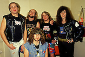 Feb 15, 1987: METAL CHURCH - Photosession in London