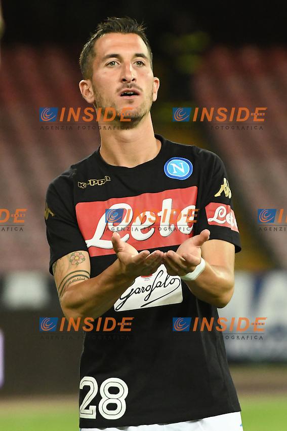 Mirko Valdifiori Napoli<br /> Napoli 7-08-2016  Stadio San Paolo<br /> amichevole / friendly match.<br /> Napoli - Monaco<br /> Foto Antonietta Baldassarre / Insidefoto