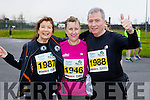 Joan McGuinness , Lucy Foley and Tom Stafford runners at the Kerry's Eye Tralee, Tralee International Marathon and Half Marathon on Saturday.