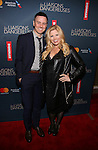 Brian Gallagher and Megan Hilty attend the Broadway Opening Night Performance of 'Les Liaisons Dangereuses'  at The Booth Theatre on October 30, 2016 in New York City.