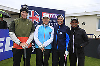 Oliver Fisher (ENG) and team during the Hero Pro-am at the Betfred British Masters, Hillside Golf Club, Lancashire, England. 08/05/2019.<br /> Picture Fran Caffrey / Golffile.ie<br /> <br /> All photo usage must carry mandatory copyright credit (© Golffile | Fran Caffrey)