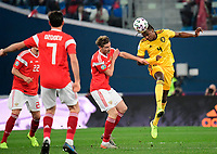 Dedryck Boyata defender of Belgium  <br /> Saint Petersbourg  - Qualification Euro 2020 - 16/11/2019 <br /> Russia - Belgium <br /> Foto Photonews/Panoramic/Insidefoto <br /> ITALY ONLY