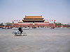 Tiananmen Gate, and bicycle