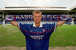 Arthur Numan is Dick Advocaat's first signing for Rangers