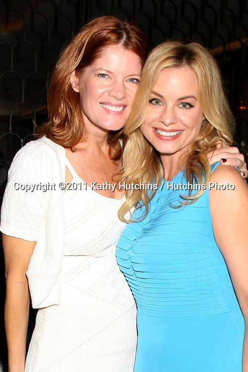 LOS ANGELES - OCT 2:  Michelle Stafford, Jessica Collins attending the Marcy Rylan Baby Shower Hosted by Eileen Davidson at the Cecconi's West Hollywood on October 2, 2011 in West Hollywood, CA