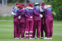 Hampstead CC have a team hug during North Middlesex CC vs Hampstead CC, Middlesex County League Cricket at Park Road on 25th May 2019