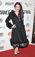 "Jasz Vegas attends the ""My Hero"" Raindance Film Festival UK film premiere, Vue Piccadilly cinema, Lower Regent Street, London, England, UK, on Friday 25 September 2015. <br /> CAP/CAN<br /> ©Can Nguyen/Capital Pictures"
