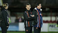 Blackpool first team coach Richie Kyle<br /> <br /> Photographer Alex Dodd/CameraSport<br /> <br /> EFL Checkatrade Trophy - Northern Section Group B - Accrington Stanley v Blackpool - Tuesday 3rd October 2017 - Crown Ground - Accrington<br />  <br /> World Copyright &copy; 2018 CameraSport. All rights reserved. 43 Linden Ave. Countesthorpe. Leicester. England. LE8 5PG - Tel: +44 (0) 116 277 4147 - admin@camerasport.com - www.camerasport.com