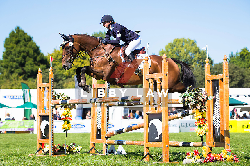 NZL-Samantha Felton (RICKER RIDGE ESCADA) CIC3* SHOWJUMPING: 2015 NZL-Farmlands Horse Of The Year Show, Hastings (Friday 20 March) CREDIT: Libby Law CREDIT: LIBBY LAW PHOTOGRAPHY