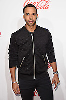 Marvin Humes<br /> at the Jingle Bell Ball 2016, O2 Arena, Greenwich, London.<br /> <br /> <br /> &copy;Ash Knotek  D3208  03/12/2016