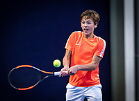 Hilversum, Netherlands, December 2, 2018, Winter Youth Circuit Masters, Boudewijn Willems (NED)<br /> Photo: Tennisimages/Henk Koster