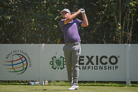 Tyrell Hatton (ENG) watches his tee shot on 3 during round 4 of the World Golf Championships, Mexico, Club De Golf Chapultepec, Mexico City, Mexico. 3/4/2018.<br /> Picture: Golffile | Ken Murray<br /> <br /> <br /> All photo usage must carry mandatory copyright credit (&copy; Golffile | Ken Murray)