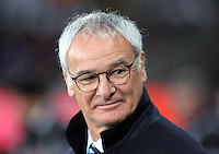 Leicester manager Claudio Ranieri during the Barclays Premier League match between Swansea City and Leicester City at the Liberty Stadium, Swansea on December 05 2015
