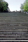 Odessa, Ukraine.The harbour steps, made famous by Eisenstein's film Battleship Potemkin.