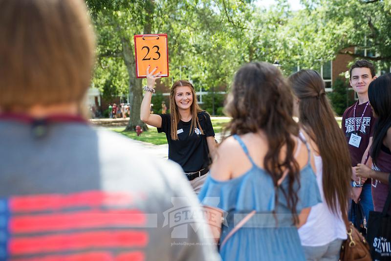 Freshman Orientation - Summer 2017. (photo by Sarah Dutton / © Mississippi State University)