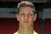 EMMEN - Voetbal, Presentatie FC Emmen, seizoen 2018-2019, 19-07-2018, FC Emmen doelman Kjell Scherpen