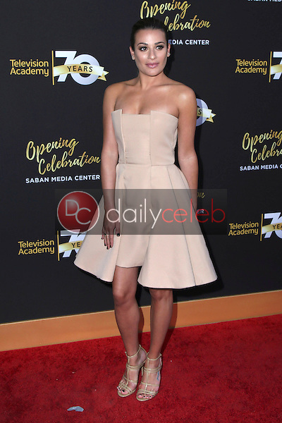 Lea Michele<br /> at the Television Academy's 70th Anniversary Celebration Gala, Television Academy, North Hollywood, CA 06-02-16<br /> David Edwards/Dailyceleb.com 818-249-4998