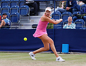 June 16th 2017, The Northern Lawn tennis Club, Manchester, England; ITF Womens tennis tournament; Number six seed Naomi Broady (GBR) in action during her quarter final singles match against number one seed Kai-Chen Chang (TPE)