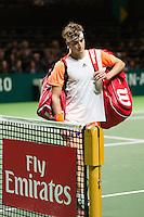ABN AMRO World Tennis Tournament, Rotterdam, The Netherlands, 14 februari, 2017, Stefanos Tsitsipas (GRE)<br /> Photo: Henk Koster