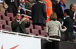 Fabio Cappello takes family photos at the Emirates..Football - Barclays Premiership - Arsenal v Chelsea - Sun 10th May 2009 - Emirates Stadium - London..© CameraSport - 43 Linden Ave. Countesthorpe. Leicester. England. LE8 5PG - Tel: +44 (0) 116 277 4147 - admin@camerasport.com - www.camerasport.com