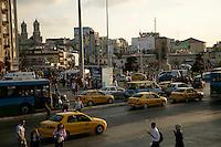 Taksim square and traffic, Istanbul, Turkey