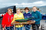 L-R Maunza Heidtke, Gillian O'Brien, Elaine Waters and Ellen Dunleavy all from Dingle who won the ladies race at Brandon regatta last Sunday.