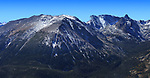 The high peaks of the Rocky Mountains in Rocky Mountain National Park, Colorado, USA