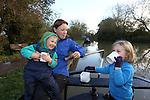 Canal & River Trust.Miranda Krestovnikoff.29.10.12.©Steve Pope