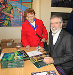 Gerry Adams book launch