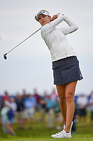 Nelly Korda (USA) watches her tee shot on 2 during the round 3 of the KPMG Women's PGA Championship, Hazeltine National, Chaska, Minnesota, USA. 6/22/2019.<br /> Picture: Golffile | Ken Murray<br /> <br /> <br /> All photo usage must carry mandatory copyright credit (© Golffile | Ken Murray)