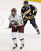 Brian Boyle, Bryan Schmidt - Boston College defeated Merrimack College 3-0 with Tim Filangieri's first two collegiate goals on November 26, 2005 at Kelley Rink/Conte Forum in Chestnut Hill, MA.