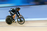 Eddie Dawkins of New Zealand competes in the Men's Keirin 2nd Round. Gold Coast 2018 Commonwealth Games, Track Cycling, Anna Meares Velodrome, Brisbane, Australia. 6 April 2018 © Copyright Photo: Anthony Au-Yeung / www.photosport.nz /SWpix.com