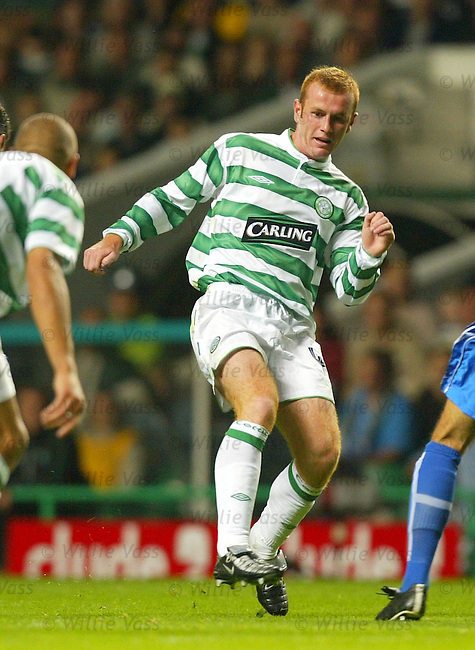 Stephen Crainey, Celtic.Stock season 2003-04..pic willie vass