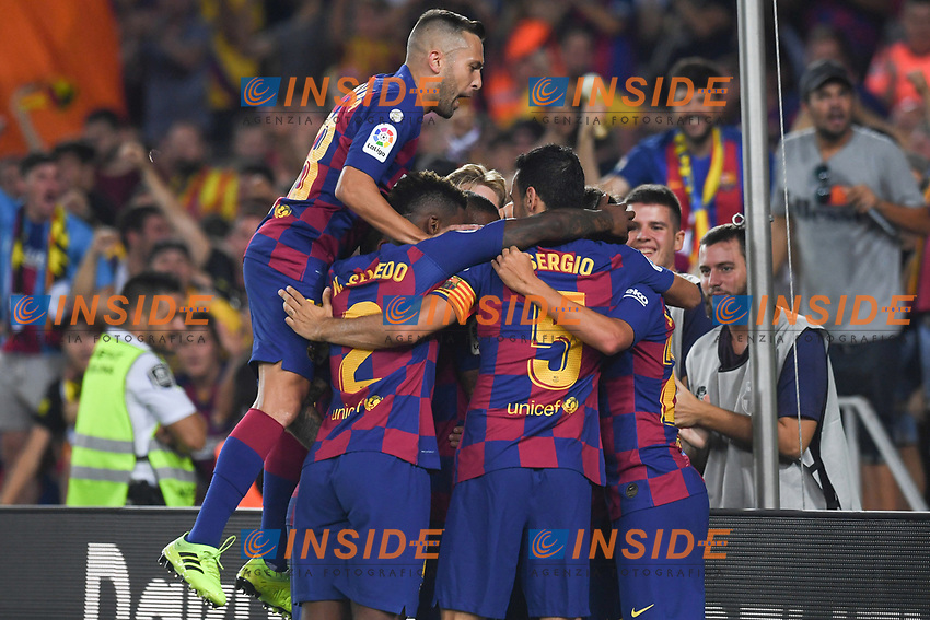 FOOTBALL: FC Barcelone vs Real Betis - La Liga-25/08/2019<br /> Griezmann (FCB), Jordi Alba (FCB)