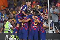 FOOTBALL: FC Barcelone vs Real Betis - La Liga-25/08/2019<br /> Griezmann (FCB), Jordi Alba (FCB) celebrate  <br /> 25/08/2019 <br /> Barcelona - Real Betis  <br /> Calcio La Liga 2019/2020  <br /> Photo Paco Largo/Panoramic/insidefoto
