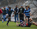 Press Cup: Nelson College v Lincoln High School,Saturday 7th May 2014, Nelson College, Nelson, New Zealand<br /> Photo: Evan Barnes/shuttersport.co.nz