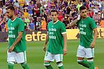 League Santander 2017/2018. Game: 01.<br /> FC Barcelona vs Real Betis: 2-0.<br /> Guardado, Camarasa &amp; Sergio Leon.