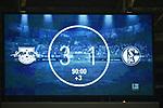 13.01.2018,  Red Bull Arena, Leipzig, GER, 1.FBL, 18.Spieltag, RB Leipzig vs FC Schalke 04, im Bild Der Endstand an der Anzeigetafel<br /> <br /> <br /> <br /> <br /> Foto &copy; nordphoto / Schmalfuss