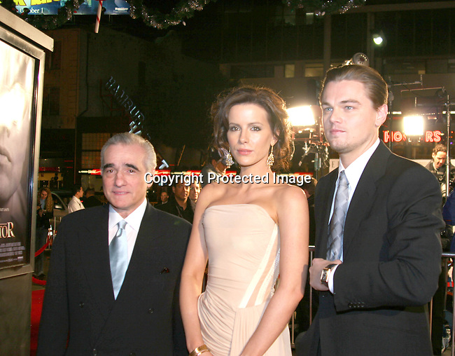 Martin Scorsese,  Kate Beckinsale &amp; Leonardo DiCaprio<br />