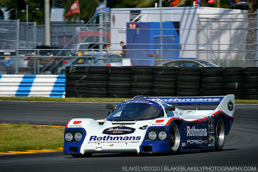 Rothmans #99 Porsche 962 at Daytona Historic Fall Classic