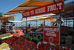 Fruit market at Pier 39 in San Francisco