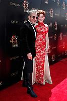 PASADENA - May 5: Jorge Del Busto, Carolyn Hennesy at the 46th Daytime Emmy Awards Gala at the Pasadena Civic Center on May 5, 2019 in Pasadena, California