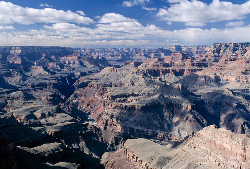 Grand Canyon National Park, Arizona; view from Navajo Point, South Rim, near East Entrance Visitors Center