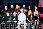 Kerry School of Music winners at their music awards ceremony on Friday night.<br /> Front l to r: Jolin Wang, Katarina Roberts, Aidan O'Carroll, Clodagh Gaynor and Michaela O'Sullivan.<br /> Back l to r:  Mairead Fitzmaurice, Doireann O'Carroll, Orla O'Sullivan, Seamus Fleming, Yuya Weng and Cathriona Fitzmaurice