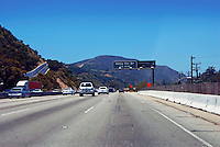 Sepulveda pass, l-405 Freeway, from I-10, Getty Center Drive,  Widening Project, Los Angeles, CA