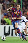 Football - FC Barcelona v Inter Milan UEFA Champions League Semi Final Second Leg - Camp Nou Stadium, Barcelona, Spain - 28/4/10 Barcelona's Zlatan Ibrahimovic