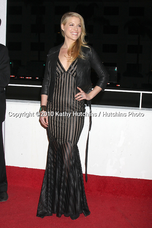 Ali Larter.arriving at the 3rd Annual Art of Elysium Gala.Rooftop of Parking Garage across from Beverly Hilton Hotel.Beverly Hills, CA.January 16, 2010.©2010 Kathy Hutchins / Hutchins Photo....
