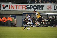 VOETBAL: SC HEERENVEEN: Abe Lenstra Stadion, 17-02-2012, SC-Heerenveen-NAC, Eredivisie, Eindstand 1-0, Luciano Narsingh, Jordy Buijs, ©foto: Martin de Jong