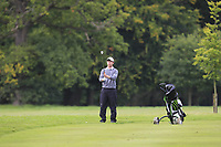 Robin Sciot-Siegrist (FRA) on the 9th fairway during Round 2 of the Bridgestone Challenge 2017 at the Luton Hoo Hotel Golf &amp; Spa, Luton, Bedfordshire, England. 08/09/2017<br /> Picture: Golffile | Thos Caffrey<br /> <br /> <br /> All photo usage must carry mandatory copyright credit     (&copy; Golffile | Thos Caffrey)